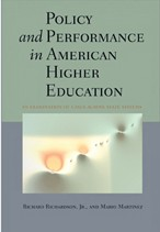 """Policy and Performance in American Higher Education"" - book cover"