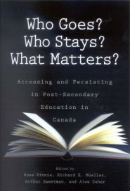 """Who Goes? Who Stays? What Matters?"" - book cover"