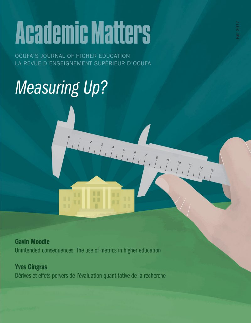 Measuring up? - Academic Matters