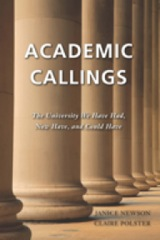 """Academic Callings"" - book cover"