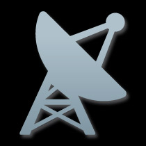 Icon of a satellite dish
