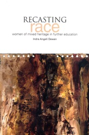 """Recasting race"" - book cover"