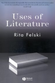 """Used of Literature"" - book cover"