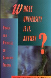 """Whose university is it, anyway?"" - book cover"